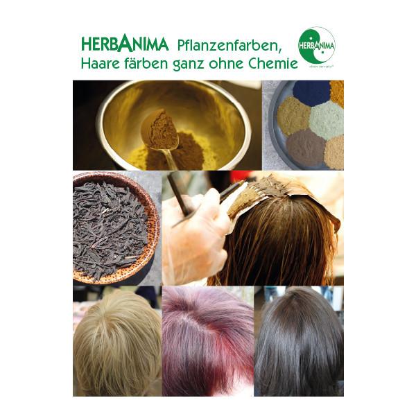 Plakat - Pflanzenfarben-Färben ohne Chemie