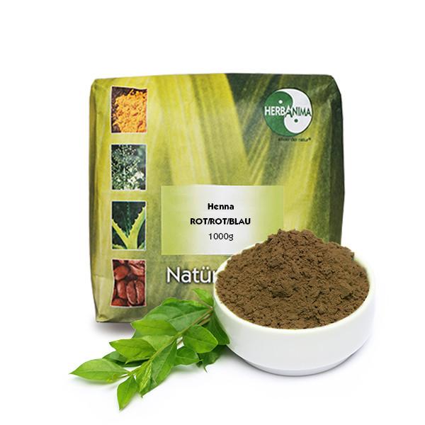 Henna ROT/ROT/BLAU 1000g